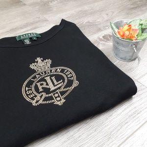 Ralph Lauren black tee shirt